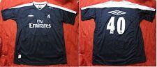 CHELSEA LONDON #40 training goalkeeper shirt UMBRO Lenny PIDGELEY adult SIZE XL
