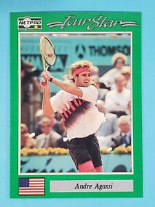 1991 NetPro Tour Star Prototype RC Andre Agassi #3 🎾