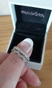Pandora Rings Size 56/58