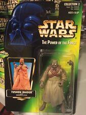New Tusken Raider Tatooine Star Wars POTF2 Power Of The Force 1996 MOC No Holo