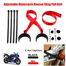 Universal Adjustable Motorcycle Front Rescue Sling Pull Belt Fork Strap String