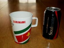SURINAME -- AFRICA, Ceramic Coffee Cup / Mug, VINTAGE