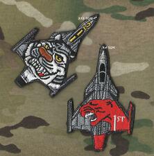 CzAF 211st SQN + HuAF Tiger Strips Schemes JAS-39C Gripen Pilot Insignia Set