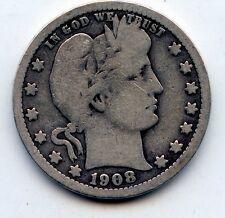 1908-o Barber quarter (SEE PROMO)