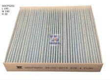 WESFIL CABIN FILTER FOR Fiat 500 1.2L 2008-on WACF0201