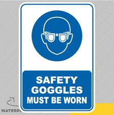 La sicurezza su Google devono essere indossati Insegna in Vinile Adesivo Finestra Decalcomania Auto Van Bici 2796