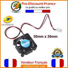 Ventilateur Fan 12V 30mm x 30mm printer Imprimante 3D Ordinateur JST 2 pins