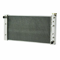 3 Row Radiator for 1982-1993 S10 V8 Conversion Small Block Chevy AT GMC S15 US