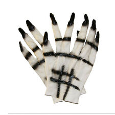 Expédié de Paris - Gants Ongles Plastique Déguisement Horreur Halloween Zombie