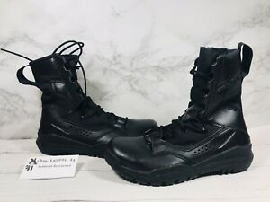 """Nike SFB Field 2 8""""Leather Black Tactical Boots AO7507-001 Military Men Size 9"""