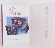 NETSUKE & POETRY Slipcase Miniature Sculptures Miniature Poems Japanese Asian