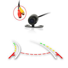 Car Dynamic Trajectory Moving Guide Line Rear View Reverse Backup Camera buttfly