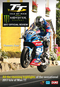 Isle of Man TT 2017 Review DVD NEW