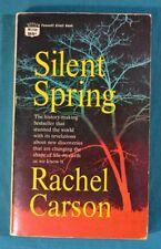 Silent Spring Rachel Carson Fawcett Crest Paperback 9th Printing 1969