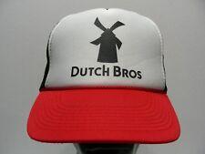 DUTCH BROS - TRUCKER STYLE ADJUSTABLE SNAPBACK BALL CAP HAT!