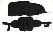 """Allen Paintball Gun 26"""" Black Soft Bag Automag 6 Pockets Detachable Fannie Pack"""