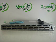 Arista DCS-7050QX-32S 32xQSFP+ Network Switch Back-to-Front w/ Dual Power Supply