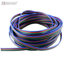 20m LED RGB Kabel 4 polig 3 adrig 5 Adern Verbindungskabel WS2801 WS2812B Strip