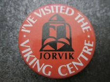 Jorvik Viking Centre Pin Badge Button (L7B)
