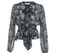 Miss Selfridge paisley blouse / shirt