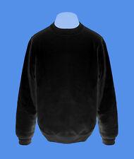 Pullover Mann Männer Sweatshirt Herren Pulli move2be schwarz unifarben S-XXL B&C