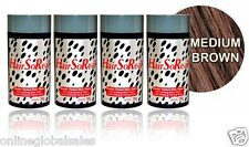 4 x HairSoReal, HSR Hair Loss Concealer,Cover Bald Spots Instantly ~Medium Brown