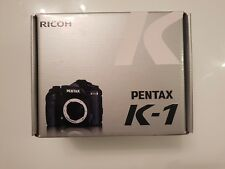 Pentax K-1 DSLR Full Frame Camera Body in Black BNIB