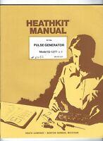 HEATHKIT PULSE GENERATOR Model IG-1277 Instruction MANUAL 1984 Heath ZENITH Vtg
