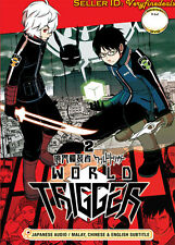 World Trigger 2 DVD Complete 1-12 English Sub- NEW Anime - US Seller Ship Fast