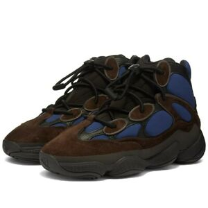Adidas Yeezy 500 High Tyrian Blue Black FY4269 Men's Sizes