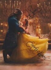 BEAUTY AND THE BEAST! ~ EMMA WATSON AND DAN STEVENS! VERY NICE REPRINT PHOTO! F1