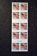 2016USA #5054a Forever  U.S. Flag US - Booklet of 10  Mint  (SSP)
