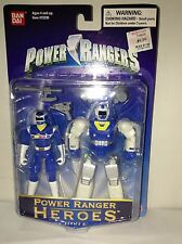 Power Rangers Heroes Series 9 Blue Ranger Space Suit Armor Bandai Mint Sealed!
