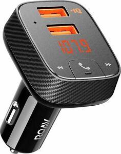 Anker Roav R5111J11 SmartCharge F2 FM Transmitter - Black