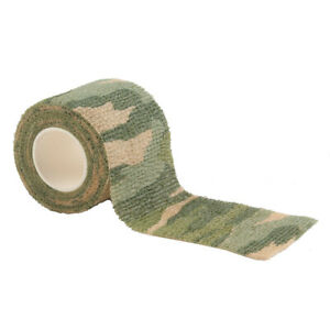 Camouflage Stealth Tape Wrap Camping Self Adhesive Bandage Hunting Camo New