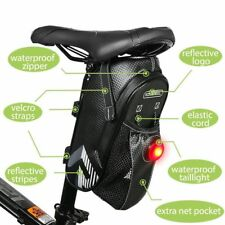 Roswheel Bike Seat Saddle Bag Waterproof Roomy Strap-on Bicycle Seat Bag Pack
