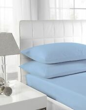 100% Egyptian Cotton Fitted Sheets Single Double King Super King!