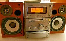 CHAINE HIFI SONY HCD-CP505MD CASSETTE & 3 x CD et MD MiniDisc  + télécommande