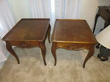 HENREDON END TABLES FRENCH COUNTRY LOT OF 2