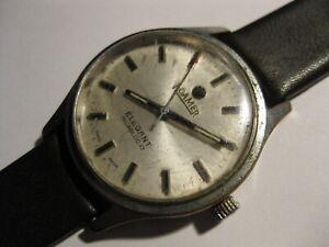 "Roamer Elegant Men's Swiss ""Second Stop"" 17JVintage Hand-Winding Vintage Watch"
