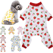 Pet Dog Cat Gift Pajamas Pyjamas Jumpsuit Casual Cotton Clothes Costumes