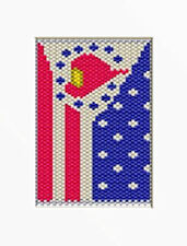 Salute To Fire Fighters Beaded Banner Pattern