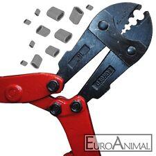 Drahtseilschere für Aluklemmen Ø1,5-3,0mm für Schlaufenseil Handpresszange