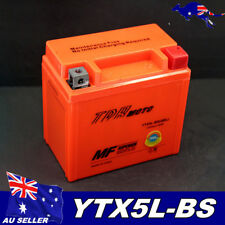 12v YTX5L-BS Motorcycle GEL Battery ATV Quad Dirt/Pit Bike 50/70/90/110/125cc