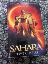 SAHARA CLIVE CUSSLER PAPERBACK BOOK 2004 EDITION