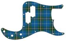P Bass Precision Pickguard Custom Fender 13 Hole Guitar Pick Guard Tartan NS