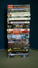 30 Historical, Military, Drama & Educational DVD's-New/PreOwned-NonProfit Org