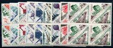 Mónaco porto 1953 40-57 ** post fresco en el viererblock! 400 € + + (s1764