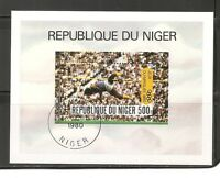 Niger SC # 511 Olympics Moscow 1980. MNH