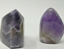 Amethyst collection including a generator, sculpture,and rough auralite-23